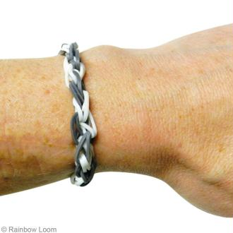 Tuto Rainbow Loom vidéo : un bracelet spirale