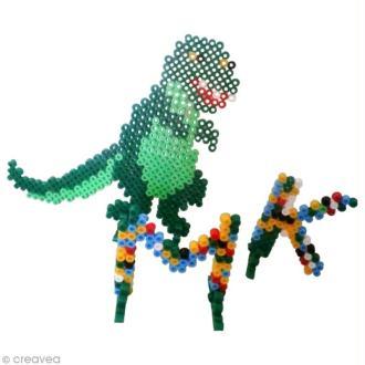 DIY enfant : Dinosaure en perles Hama (tuto vidéo)