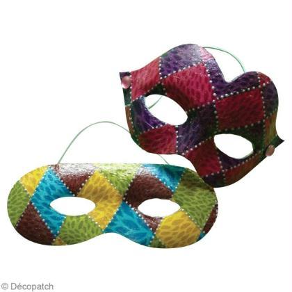 masque de carnaval en d copatch id es conseils et tuto carnaval mardi gras. Black Bedroom Furniture Sets. Home Design Ideas
