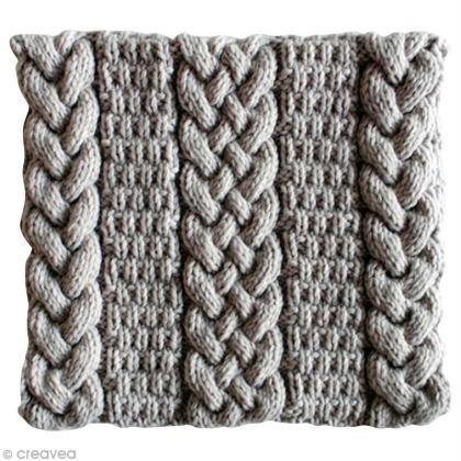 Tricoter un snood femme   torsades et point granité - Idées conseils ... 4291e16ab75
