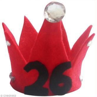 DIY Mini couronne d'anniversaire