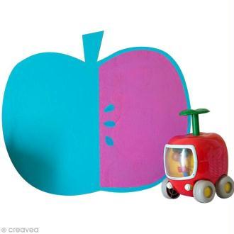 DIY déco : Fabriquer une ardoise pomme