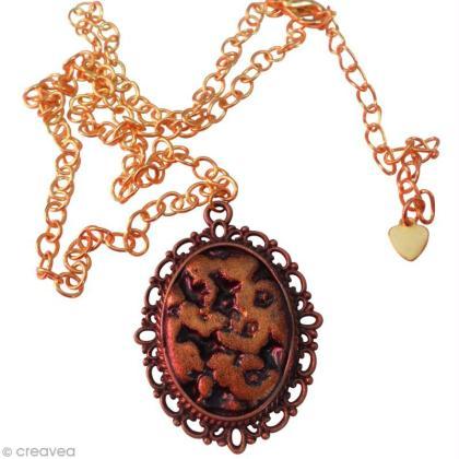 Tuto bijoux fimo : Fabriquer un camé léopard (tuto vidéo)