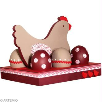 Tuto déco de Pâques : Fabriquer un porte oeufs