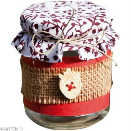 Diy scrap pot de confiture id es conseils et tuto scrapbooking - Decoration pot de confiture ...