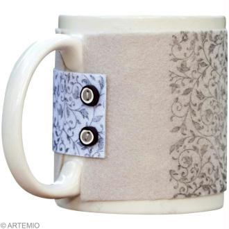 Tuto simple : Personnaliser un mug et un sous verre