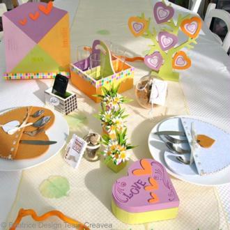 Table de fête des mères et des pères, et idées cadeaux !