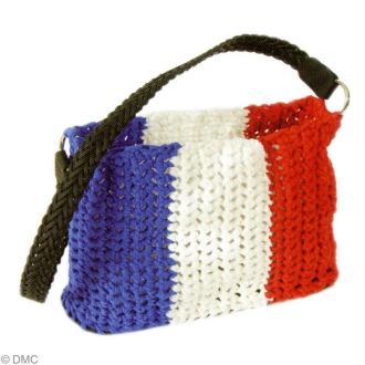 Fabriquer un sac Ribbon XL pour supporter la France