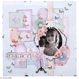 Tuto page Scrapbooking Docraft