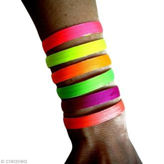 DIY bracelet à mémoire de forme fluo