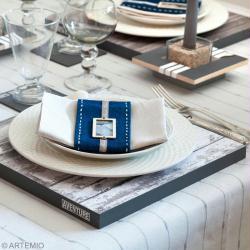 Diy Decoration De Table Set De Table Dessous De Verre