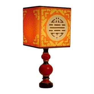Lampe décorée avec du sable coloré
