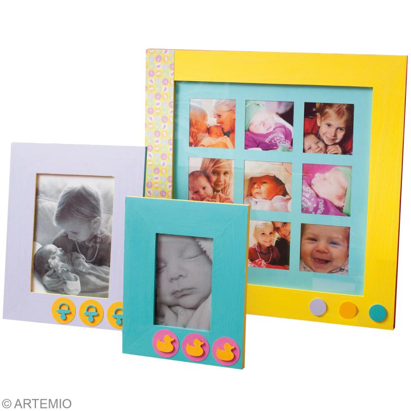 D coration cadre photo famille 4 id es id es conseils for Tuto tableau home deco