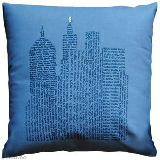DIY : Customiser un coussin dans un style New York