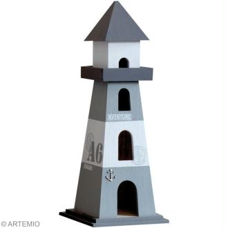 Décoration de table thème mer 2/2 : oiseau et phare
