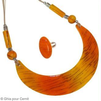 Tuto collier africain : modelage avec la Cernit