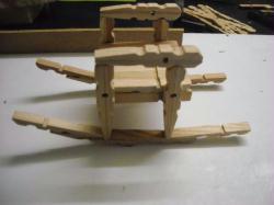 10. Montage du siège sur les montants à bascules