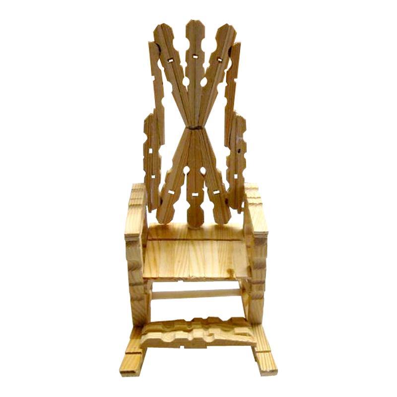 fauteuil en pinces linge id es conseils et tuto maquettes et miniatures. Black Bedroom Furniture Sets. Home Design Ideas