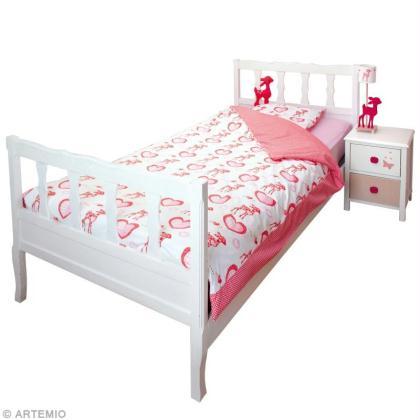 coudre une parure de lit housse de couette et oreiller tuto id es conseils et tuto couture. Black Bedroom Furniture Sets. Home Design Ideas