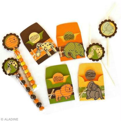 Anniversaire theme animaux jungle tuto d coration id es conseils et tuto anniversaire - Decoration animaux de la jungle ...