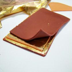 3. Superposition des plaques de Fimo
