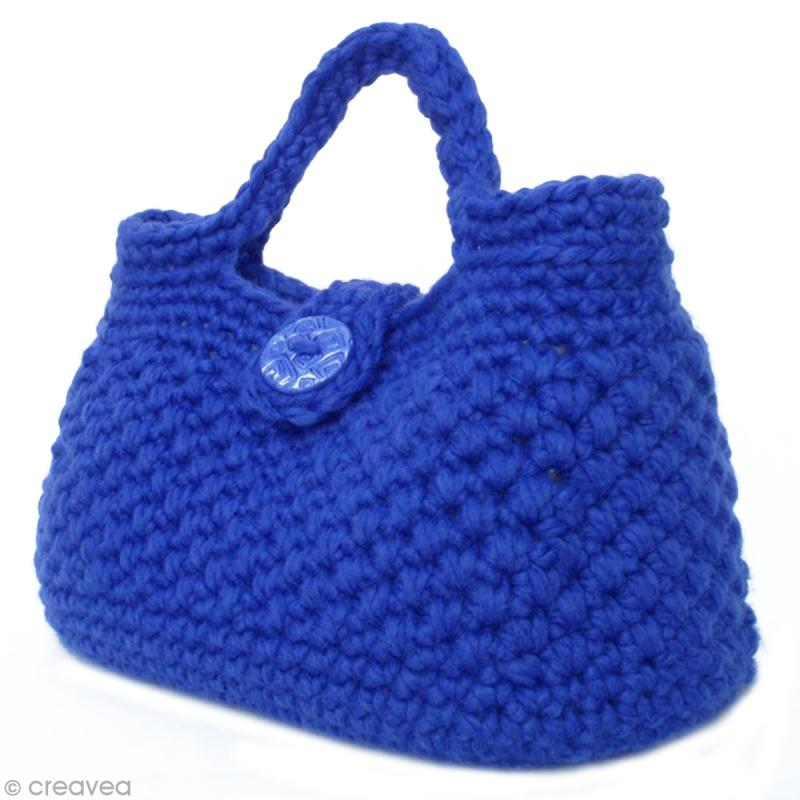 Diy sac main au crochet en laine ottawa id es conseils et tuto crochet et tricot - Tuto sac tricot en tissu ...
