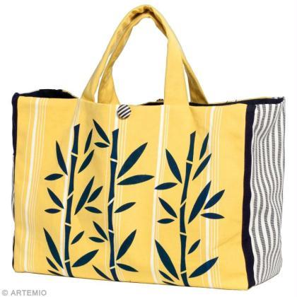 diy sac de plage bambou id es conseils et tuto couture. Black Bedroom Furniture Sets. Home Design Ideas