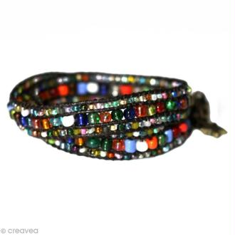 Le bracelet wrap style bohème
