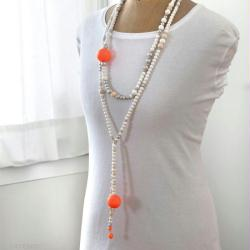 tuto collier perle en bois