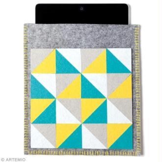 DIY Couture facile : Housse de tablette en feutrine