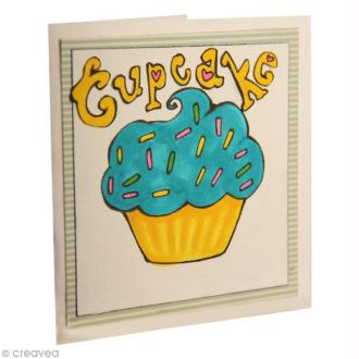 DIY La carte Cupcake avec les marqueurs Graph'it