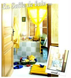 6. La salle de bain Avant / Après