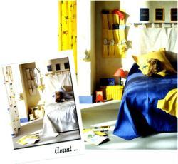 7. La chambre d'enfant Avant / Après