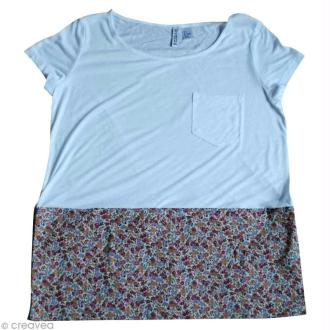 Customiser un t-shirt avec du tissu Frou Frou