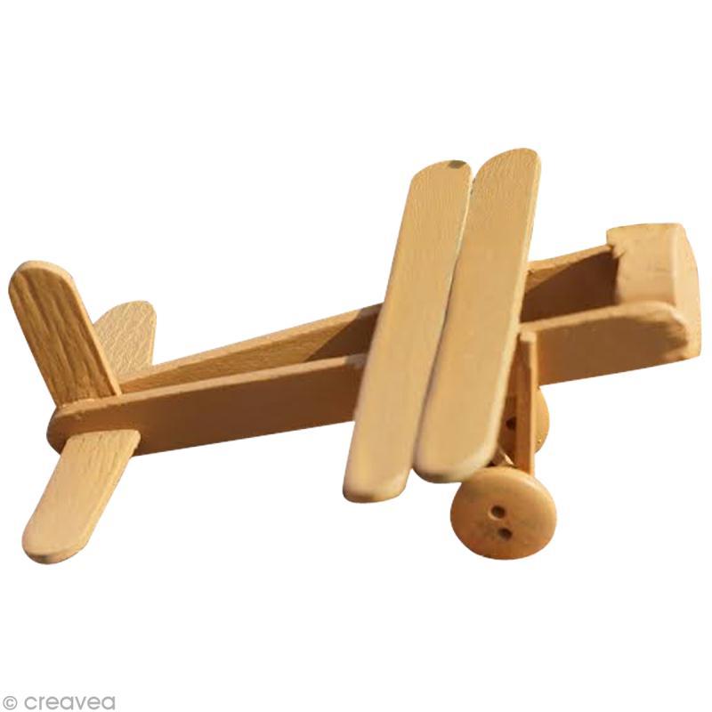 un avion en batonnets de glace id es conseils et tuto activit manuelle enfant. Black Bedroom Furniture Sets. Home Design Ideas