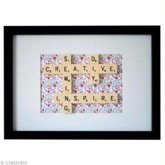 DIY Déco : Cadre Scrabble