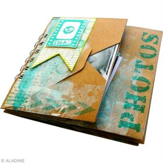 Tuto mini album scrap pour photos