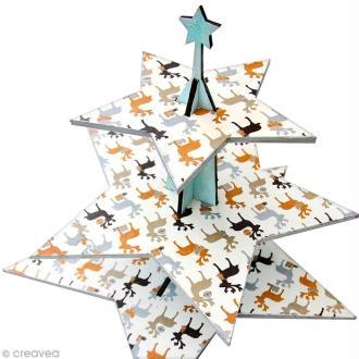 DIY bricolage de Noël : le présentoir à gâteaux Etoile