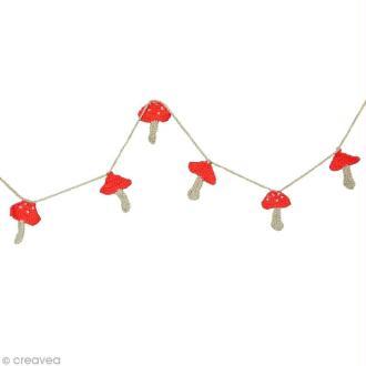 DIY Noël : Guirlande au crochet