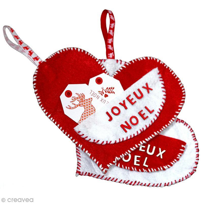 Diy chaussette en coeur pour no l id es conseils et tuto - Dessin avec des coeurs ...