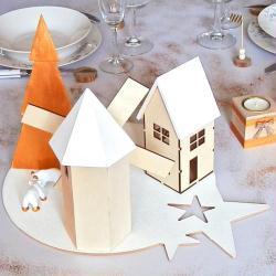 9. Village de Noël terminé