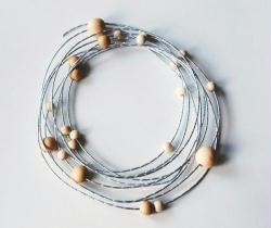 3. Enfiler les perles
