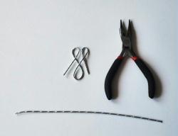 3. Travailler le fil alu