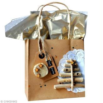 DIY : Paquet cadeau scrappé