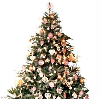 Décorations de Noël style shabby chic