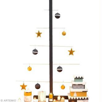 Décorations de Noël style géométrique
