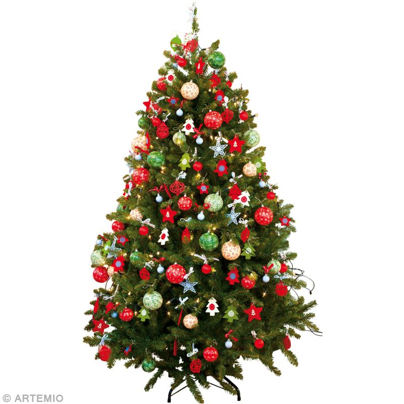 Décorations de Noël rouge et vert , Idées conseils et tuto