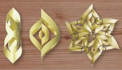 5. Assemblage des segments de papier