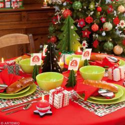 Décoration De Table De Noël à Faire Soi,même Terminée ...