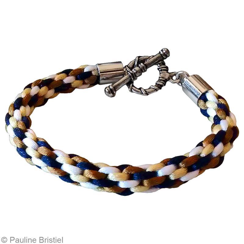 Exceptionnel Tuto bracelet kumihimo 8 fils - Idées conseils et tuto Perles et  JO06